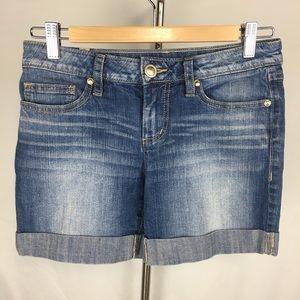 LC Lauren Conrad Shorts Denim Cuffed Size 2